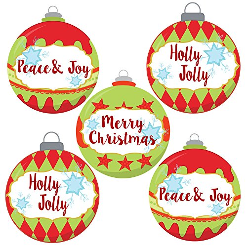 tickers for Holidays - Envelope Seal, Favor and Gift Wrapping Label - Set of 30 ()