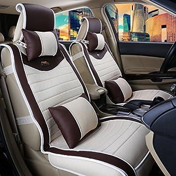 AMYMGLL Accesorios para auto grande del amortiguador de lujo de la cubierta (10set) Cojín