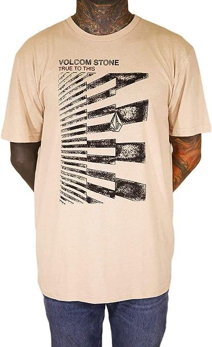 Volcom Stone Truth HTH SS - Camiseta Hombre: Amazon.es: Deportes y aire libre