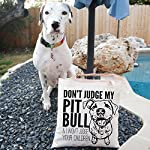 Don't Judge My Dog Tote Bag by Pet Studio Art 13