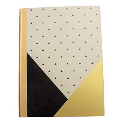 """Studio C Carolina Pad College Ruled Foil Cover Composition Book ~ Gold Digger (Positively Stunning; 7.5"""" x 9.75""""; 100 Sheets, 200 Pages): Toys & Games"""