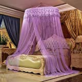 ZPPWZ Large Mosquito Net Insect Bug Protection Bed Canopy 12 M Coverage Ideal for Home Net Lace Dome Hanging Bed Canopy Play Tent Height 3M/118in