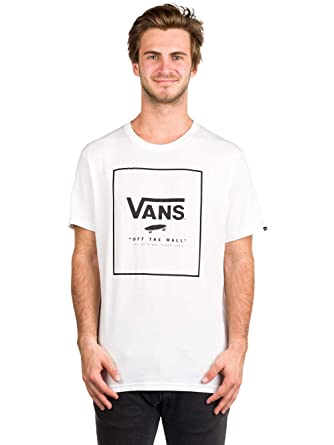 4fc2804e304747 Vans Mens Print Box Tee at Amazon Men s Clothing store
