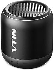 VicTsing K1 Altavoz Bluetooth Portátiles, Sonido con Estéreo Premium 8W, Tamaño Pequeño y HiFi Potente los Bajos, 3 Modos : conexión bluetooh, Cable USB-Jack y Tarjeta SD.