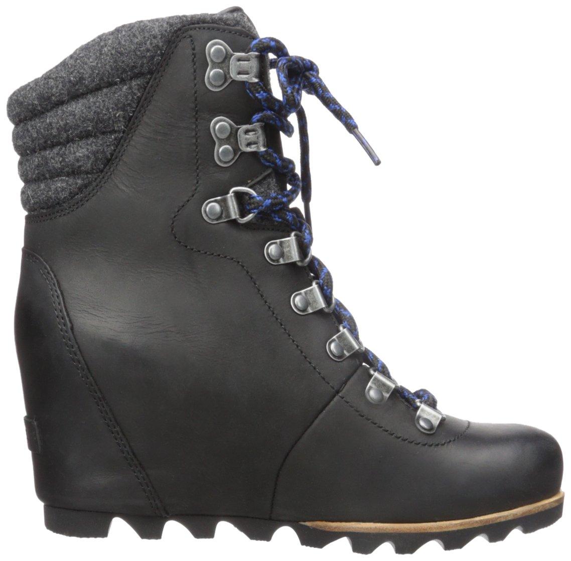 SOREL Women's Conquest Wedge Mid Calf Boot, Black, 11 M US by SOREL (Image #8)