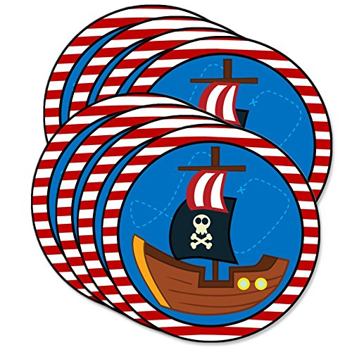 Pirate Ship Birthday Party Supplies Large 9