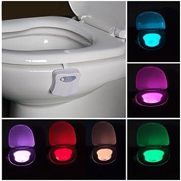 Toilette Wc Nachtlicht Led Lampe Wc Beleuchtung Batteriebetriebene