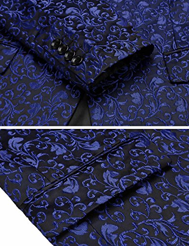 Blazer Jinidu Blazer Jinidu Bleu Homme rrUYx7