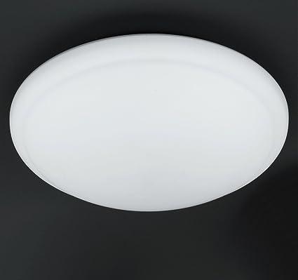 Glasleuchte OPALGLAS matt  rund Ø 40cm Deckenlampe Küchenlicht Kellerlampe