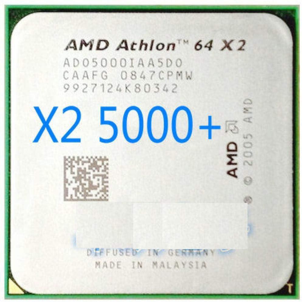 AMD CPU Athlon 64 X2 5000 2.6GHz AM2 940pin Dual-Core Processor Desktop CPU Scattered Piece