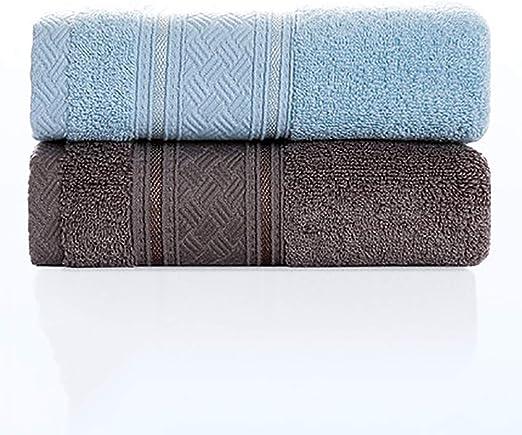 NIYOU Toallas de Mano Colores algodón Egipcio (Paquete de 2, 34x76 ...