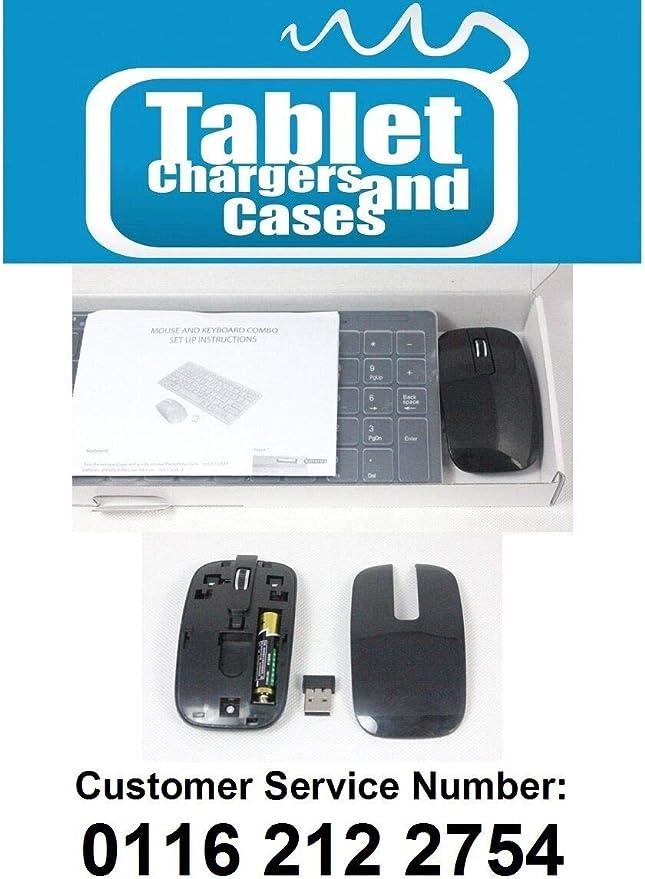 Juego de Teclado y ratón inalámbricos para LG 55LA620V LG55LA620V Smart TV, Color Negro: Amazon.es: Electrónica