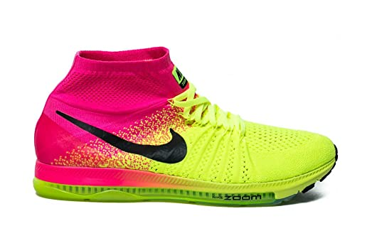 Nike Men's Zoom All Out Flyknit, BRIGHT CRIMSON/WHITE-TEAM RED-VOLT
