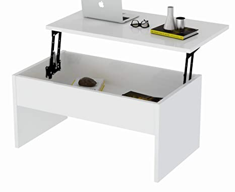 Amazon.com: Smart Lift-Top - Mesa de centro: Kitchen & Dining