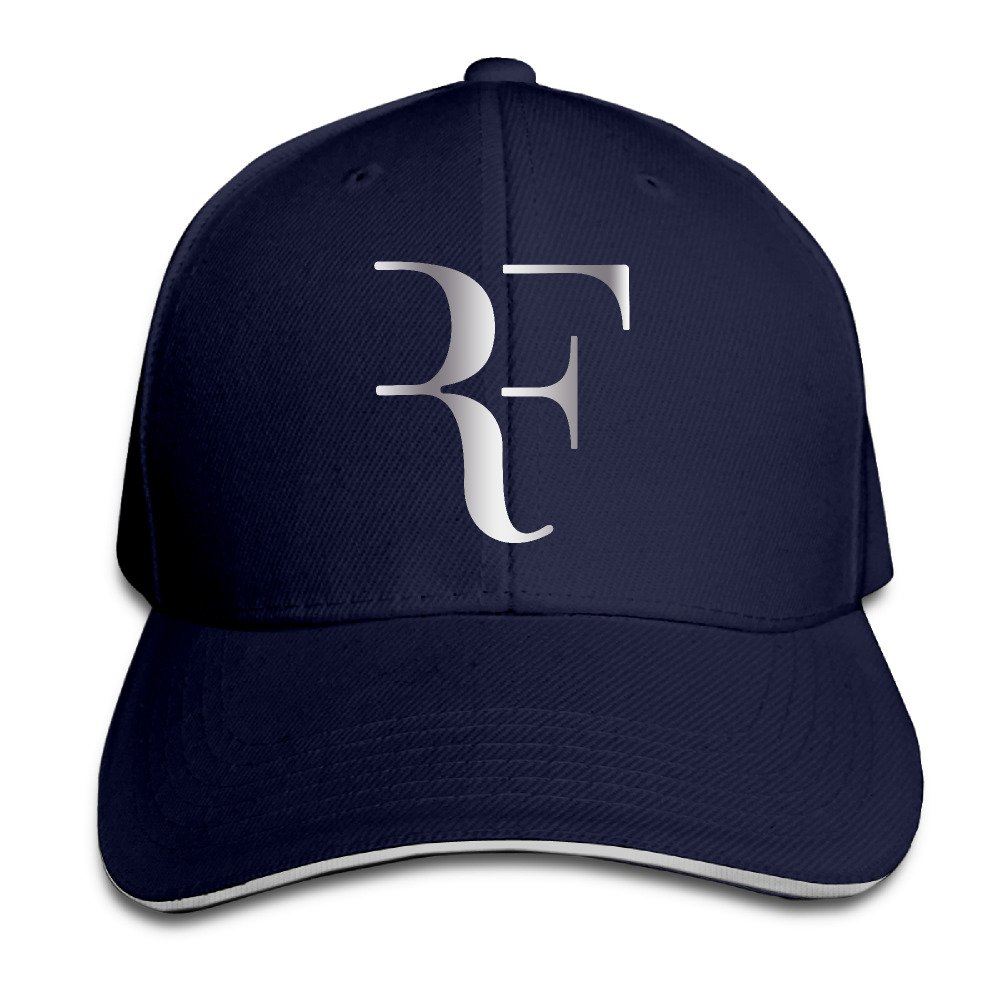 Roger Federer Platinum Logo Flex Baseball Cap Black JKHAKI