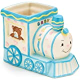 Smiley Choo Choo Train Engine Planter/holder Adorable Baby Nursery or Shower Decor