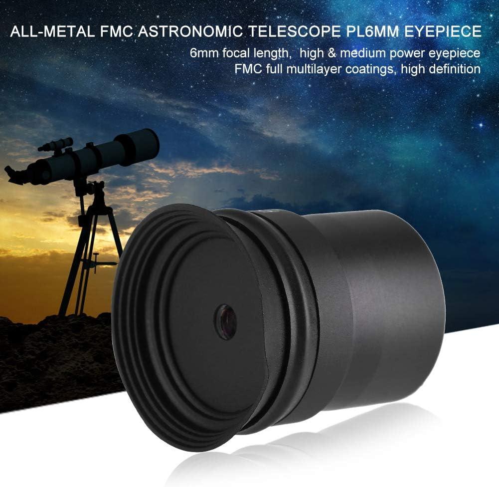 Astronomical Telescope Accessories 16mm Eyepiece Multilayer Broadband Coating Qiterr 6mm 1.25inch Eyepiece Multilayer Coatings for Astronomic Telescope