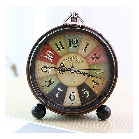 Relojes de Escritorio Reloj de mesa Vintage Número romano Sala de ...