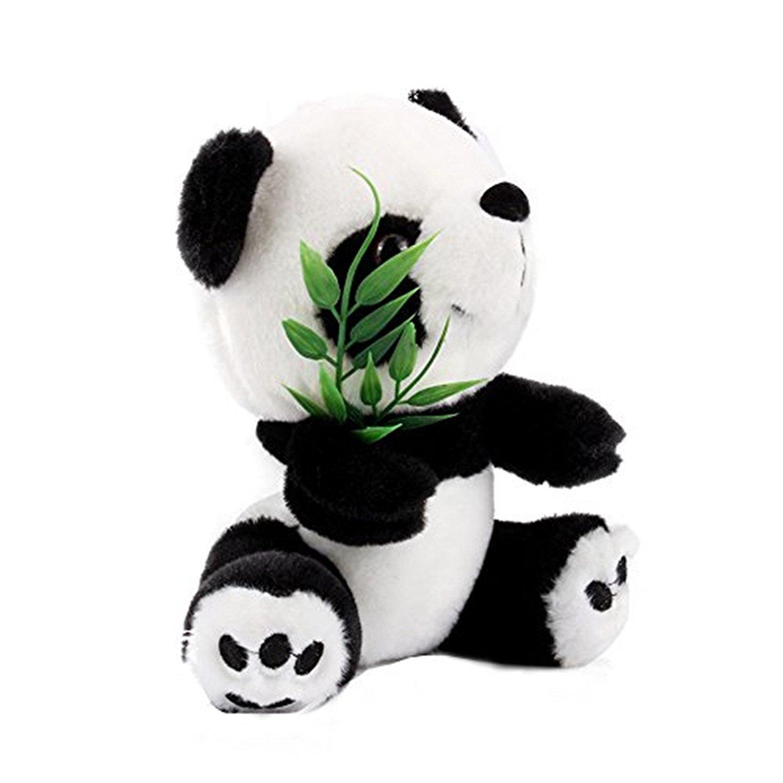 Toys Jouet De Poup/ée Cadeau De No/ëL pour B/éb/é Enfant,Panda /à Suspendre avec Surgeon pour D/écoration Yosoo 15cm Panda Peluches avec Bambou Mignon Doux