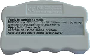 Chip Resetter for Epson T252 / T252XL / WF-3620 / WF-3640 / WF-7110 / WF-7610 / WF-7620 Printers Ink Cartridges Chip Resetter
