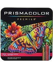 PRISMACOLOR PREMIER Pencil, Colored Pencils, Box of 72, Assorted (3599TN)