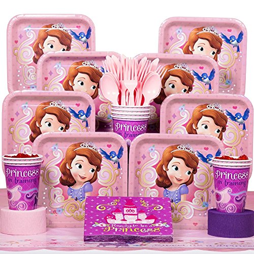 Sofia The First Costume Images - Sofia The First Deluxe Kit (Serves 8)