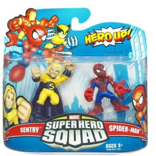Spider Man Superhero Squad - Marvel Superhero Squad Spider-Man & Sentry Action Figure 2-Pack