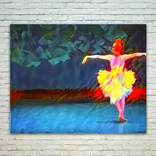 Westlake Art - Ballet Dance Lover 16x20 inch Modern Poster Prints Artwork Abstract Paintings Pictures Printed Wall Art for Home Office Decorations Unique Gift Idea from Westlake Art