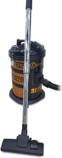 Dansat Vacuum Cleaner 21 Litter 1400 Watts, Black - DNVC3220B