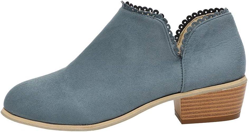 Basse Daim Boots Bottine Femme NINGSANJIN Plates Daim Femmes WrBdCxoe