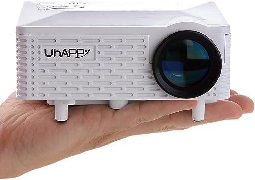 Oficina U18 Uhappy y uso en el hogar portátil Mini proyector de ...
