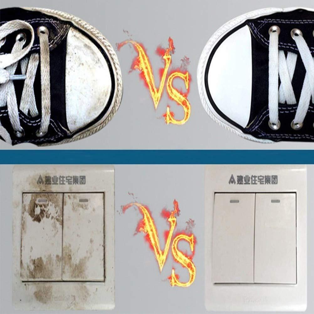 5 St/ück, Wei/ß LIHAEI 45 St/üCk-Schwammhalter K/üChe Putzschwamm Magic Eraser Schwamm Auto Reinigungsschwamm F/üR Geschirr Glas Fleckenentferner