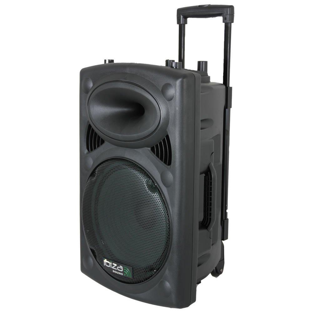 Ibiza Port10VHF-BT Enceinte portable 250 Watts Noire product image