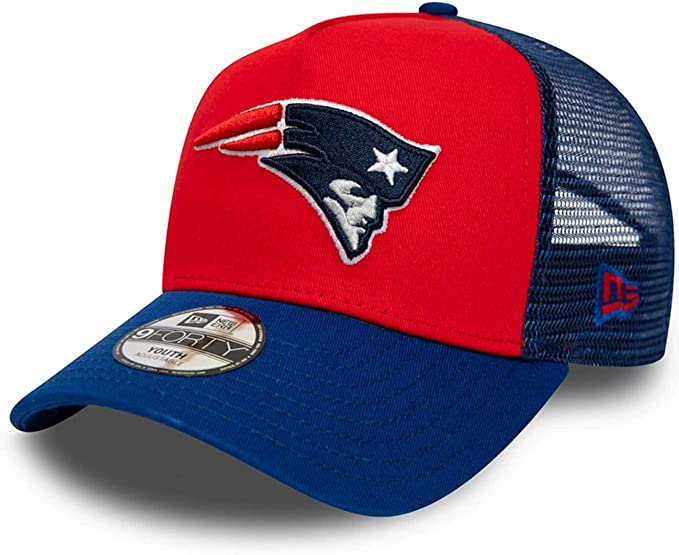 New Era Gorra 9Forty NFL England Patriots Aframe Trucker Azul ...