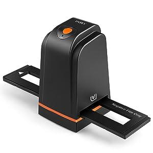 INTEY Film Scanner High Resolution Slide and Photo Scanner for Negatives and Slides Black