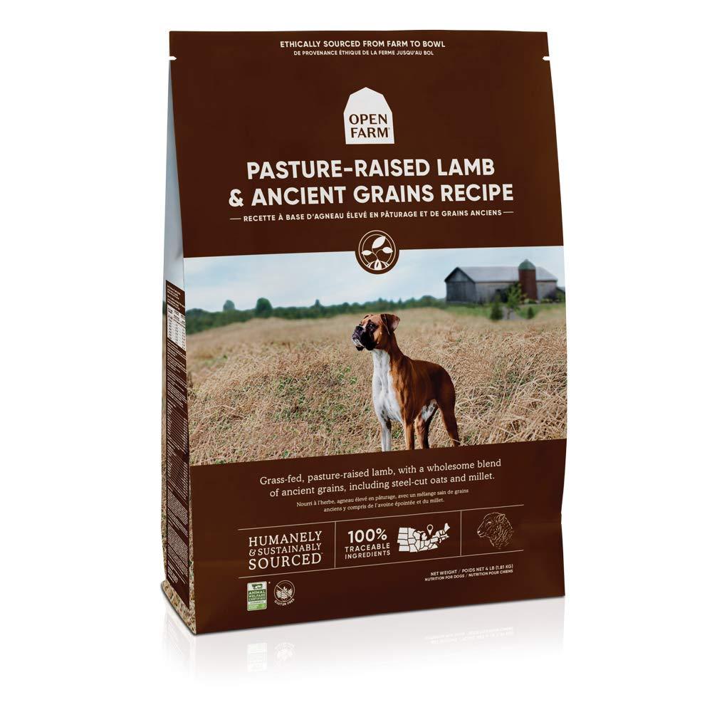 Open Farm Pasture-Raised Lamb and Ancient Grains Recipe Dry Dog Food