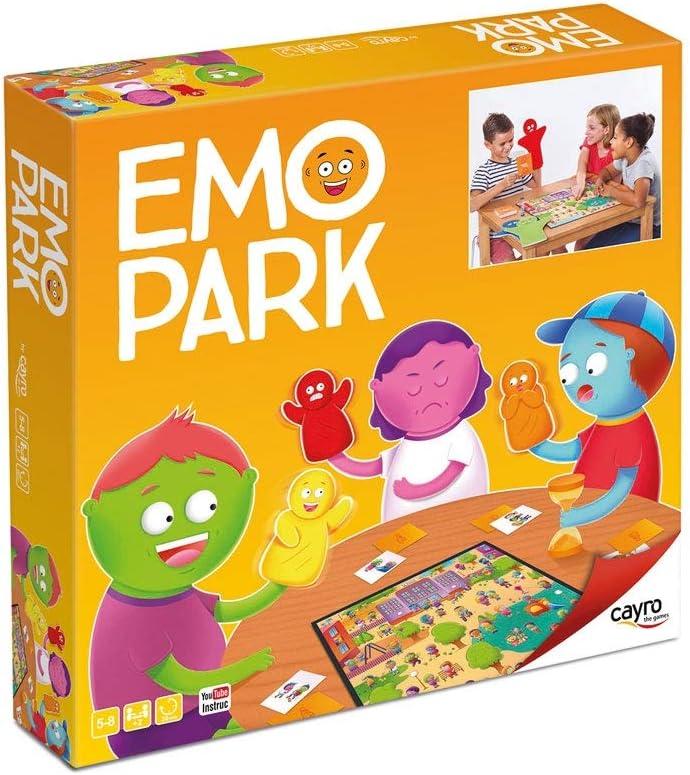Amazon.es: Cayro - EMO Park - Juego de observación y representación de Las emociones - Juego de Mesa - Desarrollo de Habilidades cognitivas e inteligencias múltiples - Juego de Mesa (337)