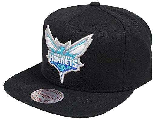 2d273fb5 Image Unavailable. Image not available for. Color: Mitchell & Ness NBA  Charlotte Hornets 348VZ Easy Three Digital XL Snapback ...