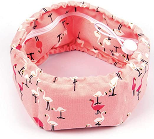 Stock Show Dog Cooling Bandana, Pet Dog Adjustable Ice Chill Out Collar Scarf with 5 Ice Packs for Summer