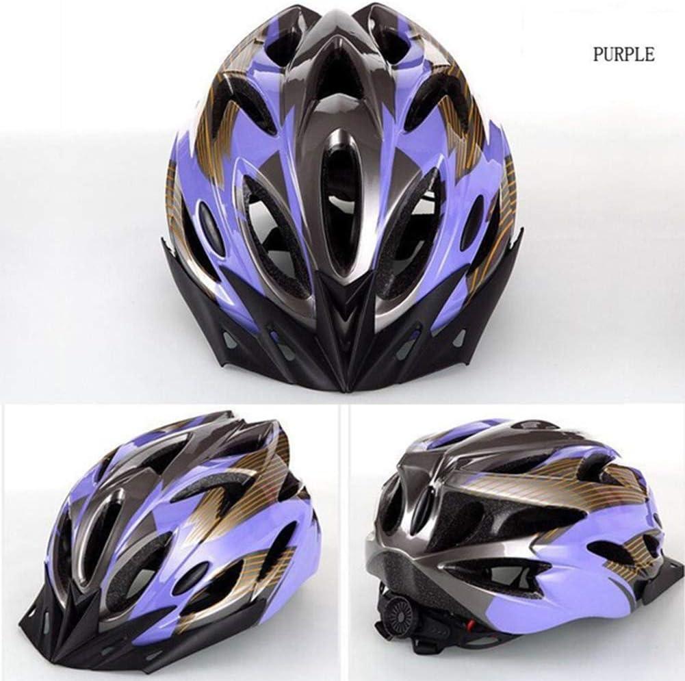 Casco de Seguridad para Bicicleta Ultraligero MTB Road Outdoor Cycling 22.44-24.80 Pulgadas Head Protective Hat