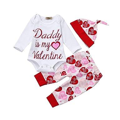 fc56eb221e3e Amazon.com  Kehen Baby Boy Girl Spring Clothes Newborn Romper Infant ...