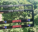 2PCS Fit New England Patriots Team Tag License
