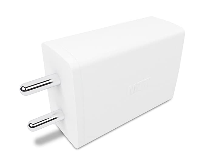 MTT Dual Port 2.1 Ampere USB Charger  White  Wall Chargers