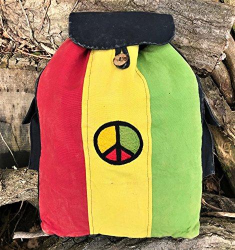 Harrington Marley, Borsa a zainetto donna Multicolore Multi Backpack