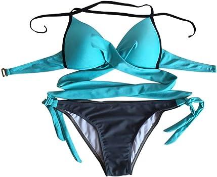 Bañadores Bikinis Bañador Trajes De Baño Swimwear Traje De Baño Mujer Vestidos De Baño Ropa De Baño Bohemia Sujetador Push-up Acolchado Traje de baño ...