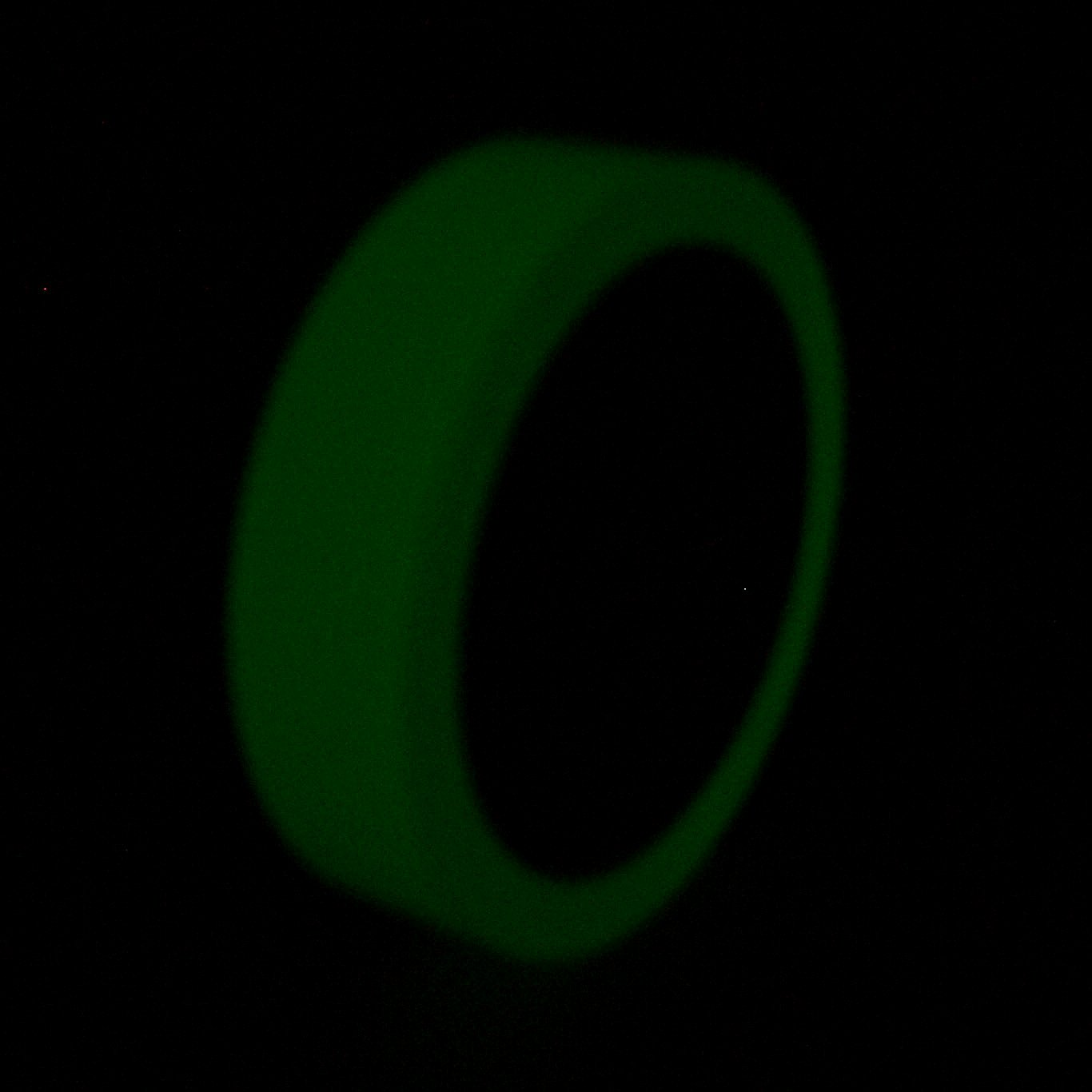J.V. Converting GLW/LLGRN410 JVCC GLW Glow in The Dark Tape: 4'' x 30 ft, Luminescent Lime Green