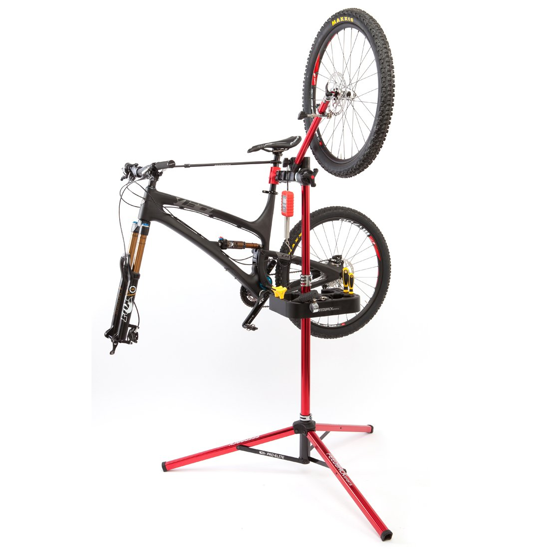 Feedback Sports Pro Elite Repair Stand (Red) by Feedback Sports (Image #5)