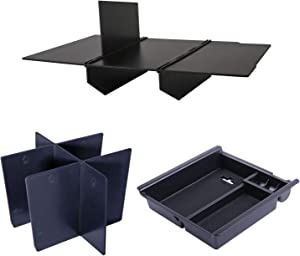 JDMCAR Center Console Divider, Tray, and Glove Box Organizer Compatible with Toyota Tacoma 2016-2020