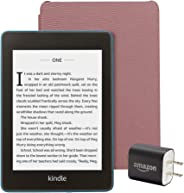 Kindle Paperwhite Essentials Bundle including Kindle Paperwhite - Wifi with Special Offers, Amazon Leather Cover, and Power