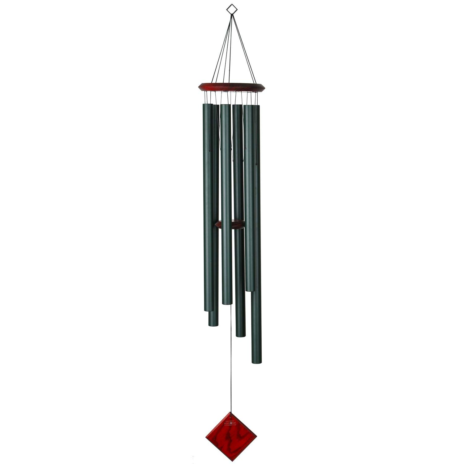 Woodstock Chimes DCE54 Encore Wind Chimes of Neptune, Evergreen